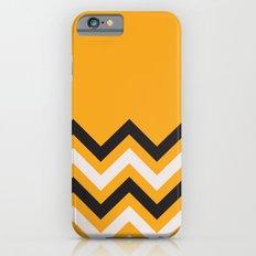 Orange Zigzag Slim Case iPhone 6s
