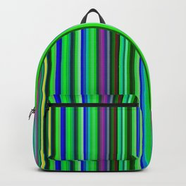 Colorful Barcode Backpack