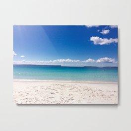 Blue beach- Hyams beach, NSW Australia Metal Print