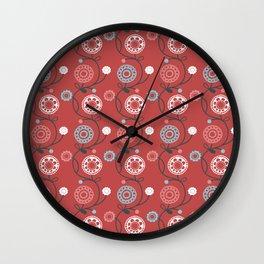Daisy Doodles 5 Wall Clock