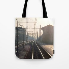 The Blurry Memory Of Leaving Home Tote Bag