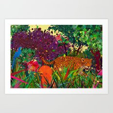 amazonic Art Print