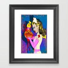DONUT BABE 300 Framed Art Print