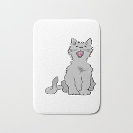 Stop Right Meow Thank You Very Much Bath Mat