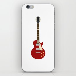 Gibson Les Paul Red iPhone Skin