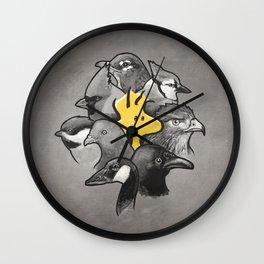 Birdies! Wall Clock