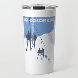 Ski Colorado Travel Mug