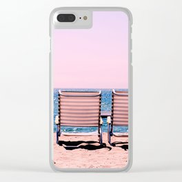 Solo Beach View Clear iPhone Case