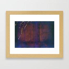 Branch on Corkboard Framed Art Print