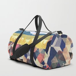 Fall Afternoon Light Duffle Bag