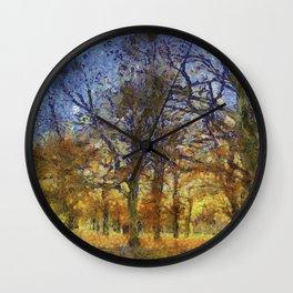 Greenwich Park London Art Wall Clock