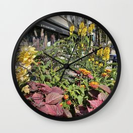 Madison WI Urban Color 2 Wall Clock