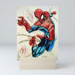 Web-Slinger Spider-Man Mini Art Print