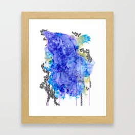 Into the Waves Framed Art Print