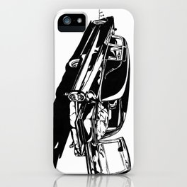 "Hearse - ""Daisy Pushin'"" iPhone Case"