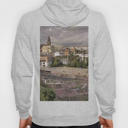 Malaga Amphipheatre Cityscape Hoody
