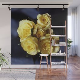 yellow roses Wall Mural