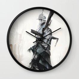 Apparition of War Wall Clock