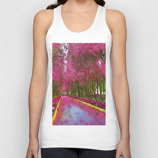 CHERRY BLOSSOMS SPRING Unisex Tank Top