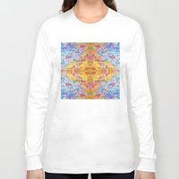 lsd Long Sleeve T-shirts featuring LSD Flower by Zeus Design