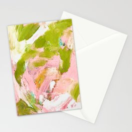 Summer Daze, Abstract Stationery Cards