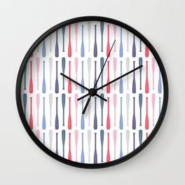 AFE Canoe Paddles Wall Clock