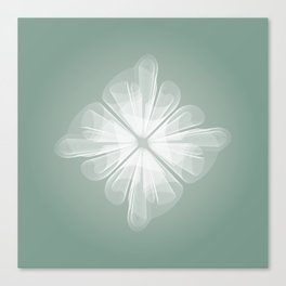 White Tulle Canvas Print