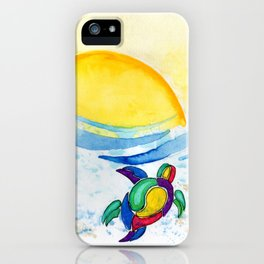 Sunrise escape iPhone Case