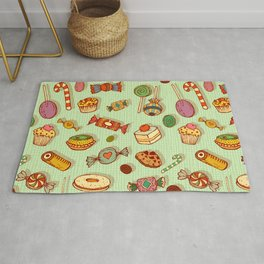candy and pastries Rug