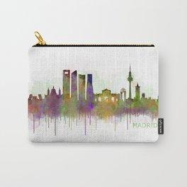 Madrid City Skyline HQ v5 Carry-All Pouch