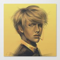 durarara Canvas Prints featuring Shizuo by emametlo