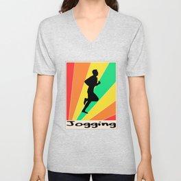 Jogging poster Trotar Unisex V-Neck