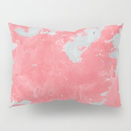 pink marble pattern Pillow Sham