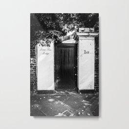 A door in London III | Black & White Photography | Street Photography | Travel Photography | Photo Print | Art Print Metal Print