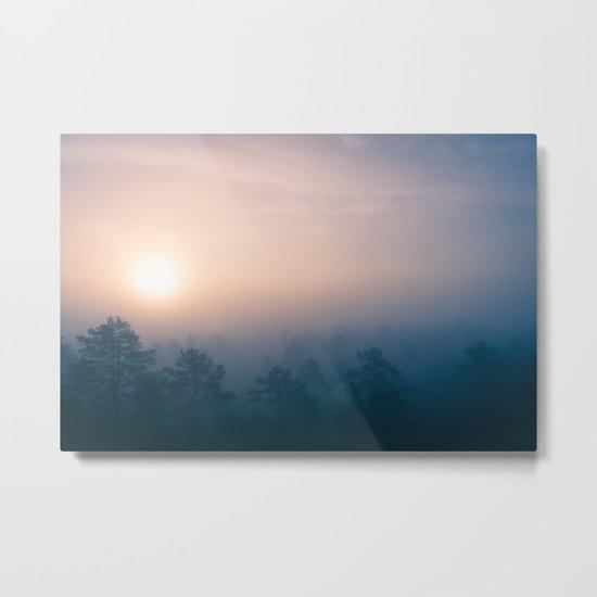 Sunrise in Heaven Metal Print