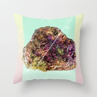 mineral Throw Pillows featuring Mineral Love by Danny Ivan