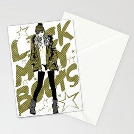 PARKA GIRL Stationery Cards