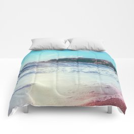 California Sunshine Waves Comforters