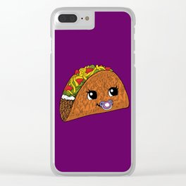 Baby Taco Clear iPhone Case