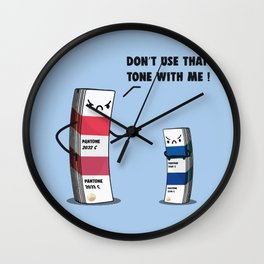 Don't do it Wall Clock