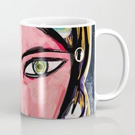 Portrait of a mystique girl Coffee Mug