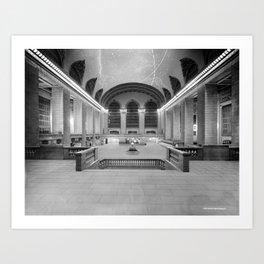Main Concourse, Grand Central Terminal, New York Art Print
