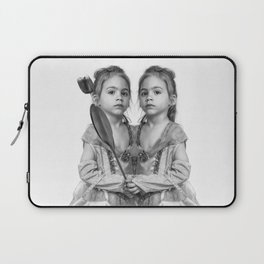 Sisters Twins Laptop Sleeve