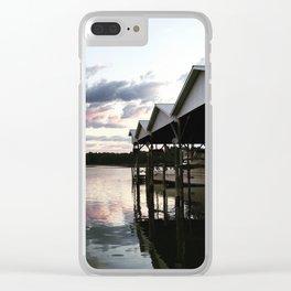 Corinthian Yacht Club (Ridge, MD) Clear iPhone Case