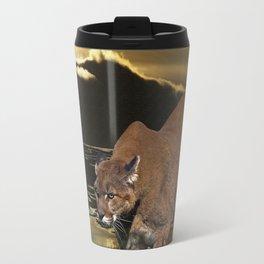 Night of the Cougar Travel Mug