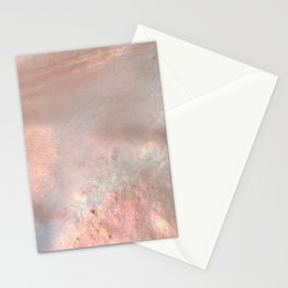 Mother of pearl in rose gold Stationery Cards
