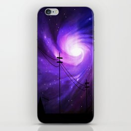 Mysterious Lights iPhone Skin