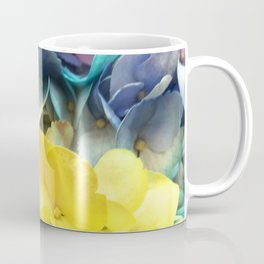 Rainbow-Colored Flowers: ALL Colors are Loved Coffee Mug