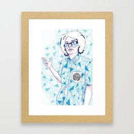 Jinmenusagi Framed Art Print