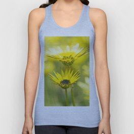 The beauty of yellow daisies Unisex Tank Top